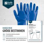 Chemikalienschutzhandschuhe mit Baumwolltrikot und Nitril Beschichtung